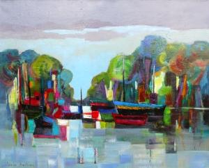 Acryliques sur toile 2011