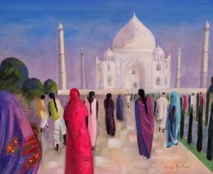 Lever de soleil sur le Taj