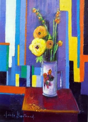 Bouquet de renoncules 33x46