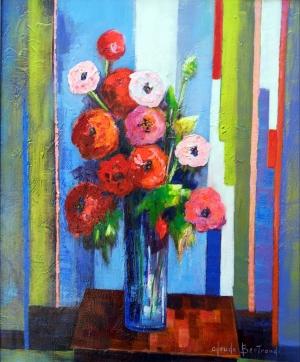 Bouquet du jardin 60x73