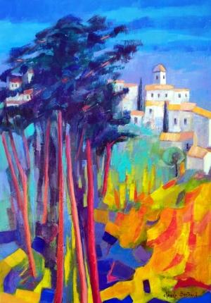 Village provencal 65x92